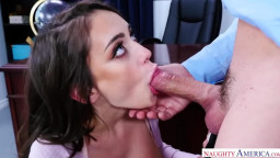 Naughty Office - Busty Secretary Ashly Anderson Helps Her Boss Date With Sex!