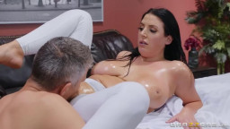 Brazzers - Dirty Masseur - Angela White - Assential Oil