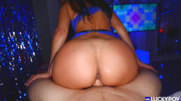 Mr Lucky POV - Kiarra Kai - Creampie For Big Ass Kiarra