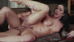 "Family Hookups - Jennifer White Gets Some ""Help"" From Her Stepson While Her Husband Is Stuck In China"