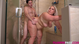Plumper Pass - Kali Kakes - A Dirty Shower