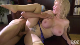 DDF Network - Epic-Tittied Housewife Casca Akashova Orders Stepson to Lick Her Pussy GP1747